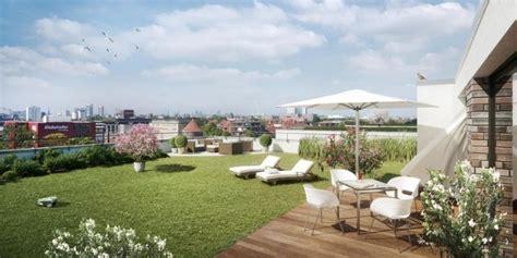 Wohnung Mit Garten Oder Terrasse In Hagen Mieten by Penthouse Dachgarten Gestaltung Ideen Rasen Wiese