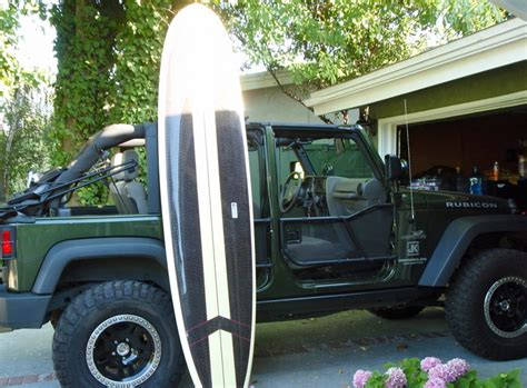 jeep surf surfboard on jeep how to pics jk forum com the