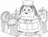 Hedgehog Coloring Pages Fall Cute Kitchen Colouring Printable Para Print Drawings Hedgehogs Animal Animals Didi Websincloud Afkomstig Activiteiten Van Dibujos sketch template