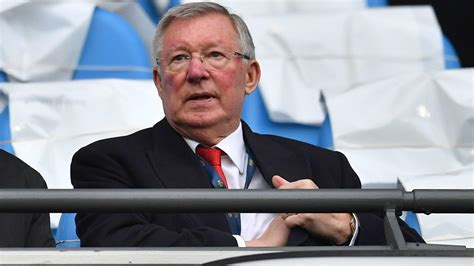 Exmanchester United Manager Sir Alex Ferguson Recovers