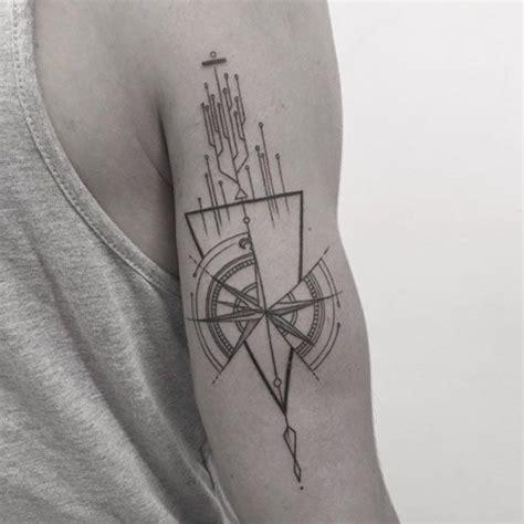 geometric tattoos ideas  pinterest geometric