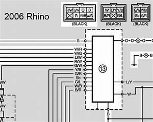 2006 Yamaha Rhino Wiring Diagram