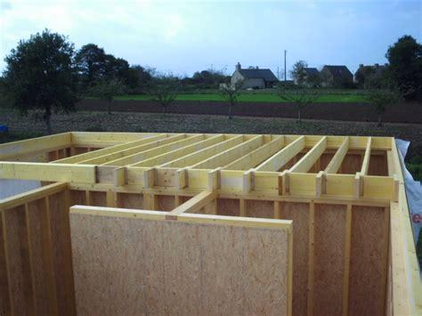 plancher d 233 tage construction d une maison en bois