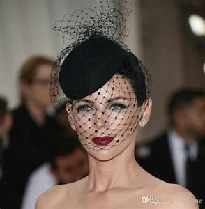 2018 New Vintage Hats Perfect Birdcage Headpiece