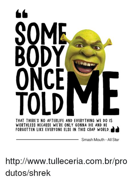 All Star Memes - 25 best memes about all star and shrek all star and