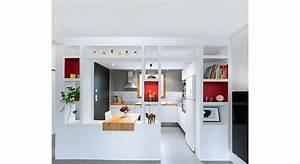 cuisine ouverte une renovation moderne et fonctionnelle With repeindre un escalier en gris 8 la renovation dun escalier isolation et domotique pour