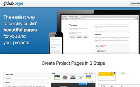 github pages templates demos with github designfollow