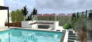 projet damenagement exterieur jardin avec piscine by With superb amenagement jardin autour piscine 3 nos realisations de jardin et amenagement dexterieur en