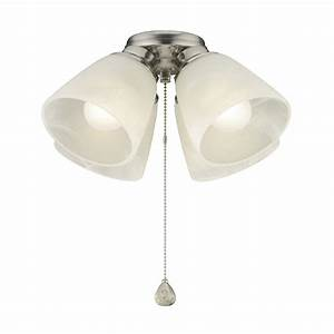 Harbor breeze light brushed nickel incandescent