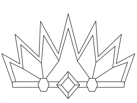 free printable tiara template crown template free templates free premium templates