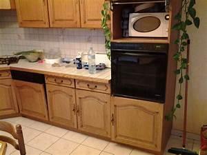 renover une cuisine comment repeindre une cuisine en With deco cuisine avec buffet chene clair