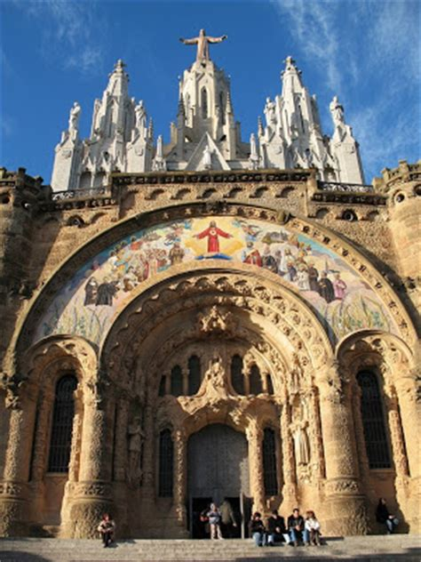 pictures  churches churches  barcelona spain