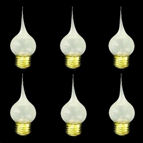 upgradelights 174 six edison based e 26 bulb silicone dipped