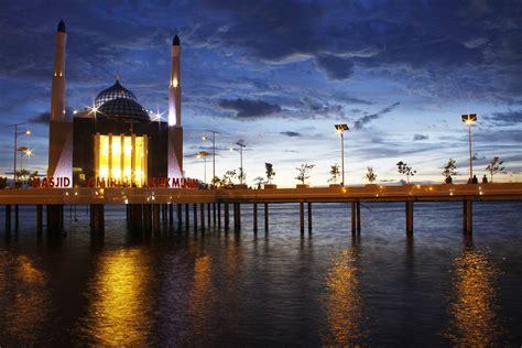 masjid keren  arsitektur unik  salah satunya