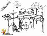 Coloring Drums Pages Drum Musical Kit Yescoloring Percussion Instruments Music Print Orchestra Electronic Colouring Sets Printable Boys Kits Sheets Treasure sketch template