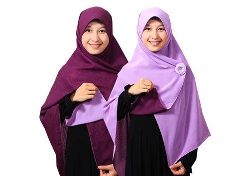gambar tutorial hijab segi empat syari tutorial hijab