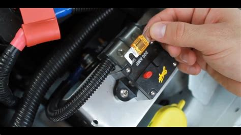 change  car amplifier fuse car audio youtube