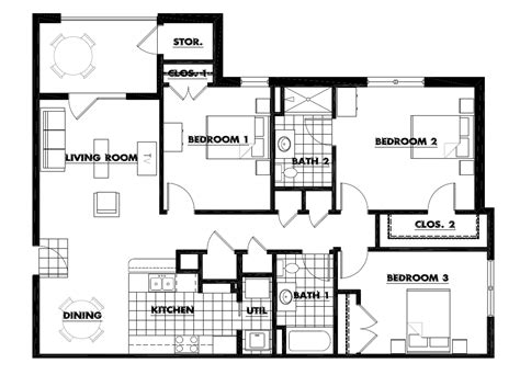 three home plans design room layout app home designs and floor plans living