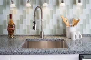 recycled glass backsplashes for kitchens message in a bottle vetrazzo the original recycled glass countertop december 2012