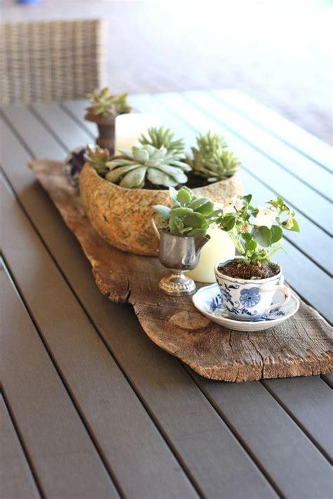 patio table centerpiece patio table centerpiece