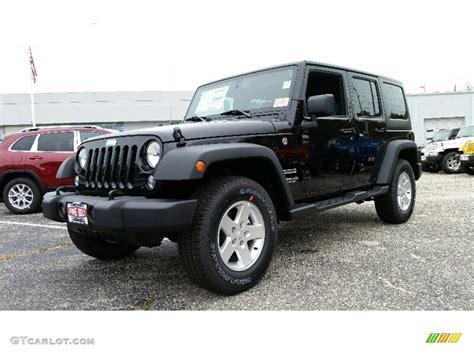 jeep black 2016 2016 black jeep wrangler unlimited sport 4x4 108374837