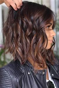 Coupes Cheveux Mi Longs 2018 : id e tendance coupe coiffure femme 2017 2018 cheveux mi longs d grad s flashmode ~ Melissatoandfro.com Idées de Décoration