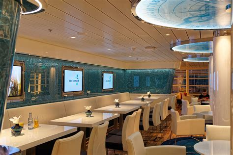 aida lounge aidanova kreuzfahrtschiff bilder