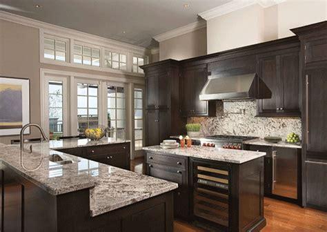 high  dark wood kitchens  designing idea