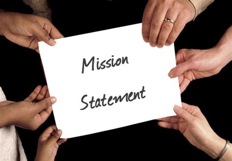 mission statement vision financial