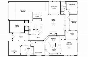 4 bedroom house plans one story 2017 house plans and for Layout for 4 bedroom house