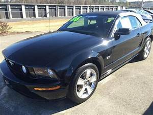 2006 Black Ford Mustang GT Convertible