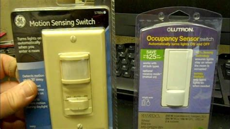install  motion activated light switch youtube