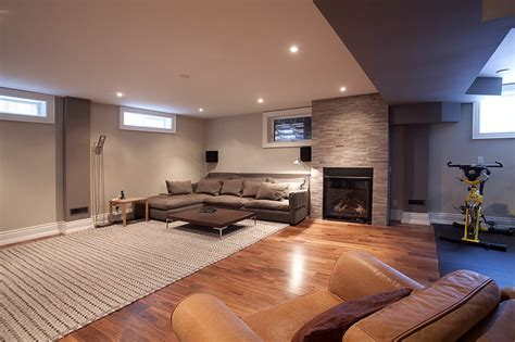 Custom Homes, Kingsway   Contemporary   Basement   toronto
