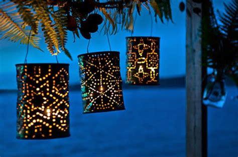 diy tin  lanterns   templates guide patterns