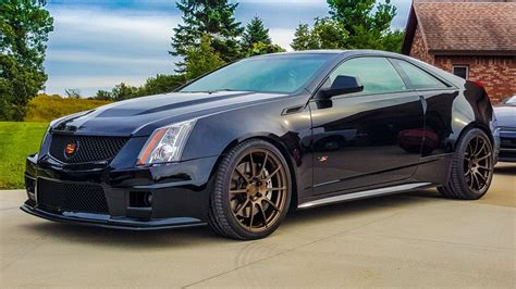 2011 Cts V by Cole Matthews S 2011 Cadillac Cts V Coupe On Wheelwell