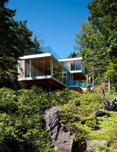 modern houses   woods  architectural digest