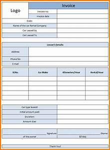 car rental invoice sample hardhostinfo With car rental invoice template