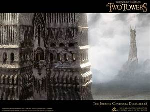 The two towers - Lord of the Rings Wallpaper