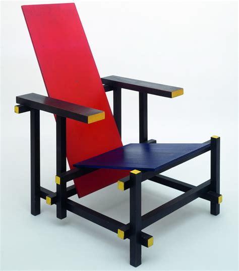 la chaise et bleue 1918 1932 avant garde de stijl und funktionalismus
