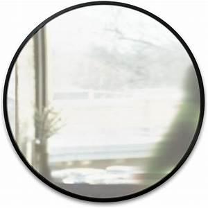 Spiegel Rund 80 Cm : wandspiegel hub rund schwarz umbra kaufen wohn und lifestylewebshop ~ Bigdaddyawards.com Haus und Dekorationen