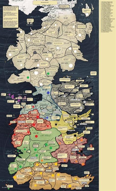 map  westeros talk nerdy   pinterest