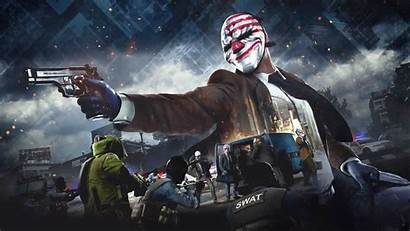 4k Payday Wallpapers Games Resolution