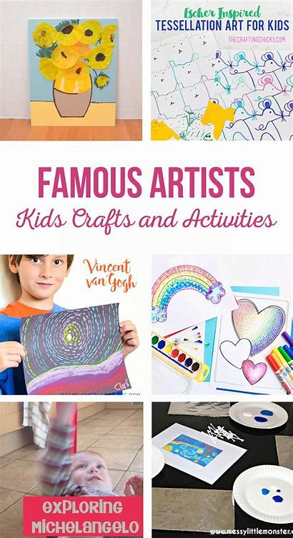 Famous Crafts Artists Activities Fun Teach Easy