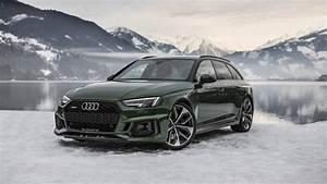 Audi Rs 4 : audi rs4 avant flaunts sonoma green paint in a winter ~ Melissatoandfro.com Idées de Décoration