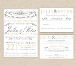 free wedding invitation sles free wedding invite templates word cloudinvitation