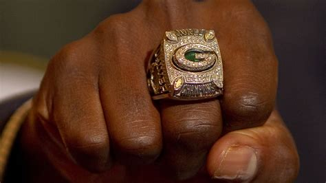 Green Bay Packers Get Their Super Bowl Rings