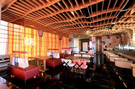 japanese cuisine bar yellow sushi bar bangkok the bigchilli
