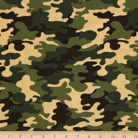 Camouflage Upholstery Fabric by Camo Army Camo Green Discount Designer Fabric Fabric