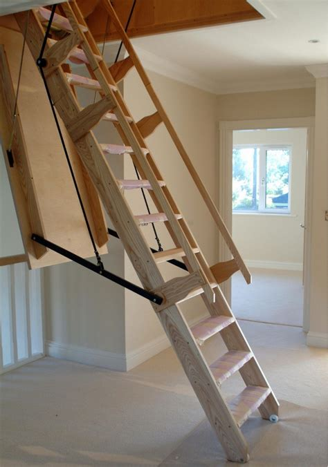 folding staircase stair designs to maximize small spaces salter spiral stair