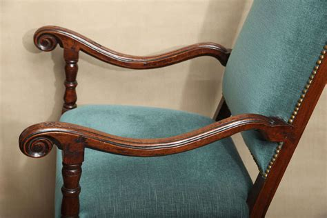 Italian Baroque Walnut Armchair For Sale At 1stdibs